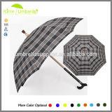 fördernder sicherer gehender Stock-Regenschirm des alten Mann-23inch