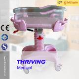 Berceau de bébé d'hôpital d'ABS de qualité (THR-RB011)