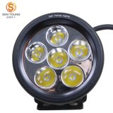 Driving Light 4 Inch 18W LED Round Driving Light para 4X4 ATV UTV Mortistcycle Jeep Trucks Off Road Condução Utilização