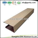 El panel de techo de madera linear del bafle del grano de la alta calidad con ISO9001