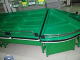 Выполненное на заказ пластичное оборудование полки индикации овоща и плодоовощ супермаркета