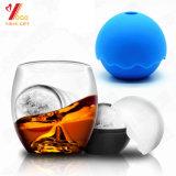Moldes de la bola de hielo del silicón de la dimensión de una variable redonda del FDA para el fabricante de hielo