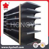 Estantes de metal lateral duplo Supermercado Prateleira Rack de exibição do monitor