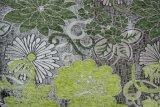 Tela de Upholstery brilhante verde do Chenille (fth31894)