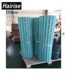Vertikale Nahrungsmittelflache Plastikförderanlagen-modularer Riemen