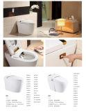 自動熱くする柔らかさの終わりのスマートな洗面所