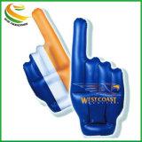 Het toejuichen Grote Hand, met het Embleem van de Douane voor de Kop van de Wereld van Rusland