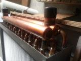 Trocador de calor para fora das portas dos fornos de madeira