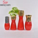 Vaas van de Bloem van de Stijl van Morden de Kleine Ceramische voor (de Rode) Decoratie van het Huis