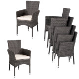 Patio Wicker Dining Sets with Furnace Flesh