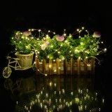 Il collegare di rame leggiadramente di Solor LED illumina 12cm indicatori luminosi solari impermeabili dell'interno/esterni dei 100 LED della decorazione per i giardini, la casa, Dancing, Party gli ornamenti decorativi