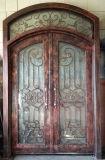 Portello di entrata nobile del ferro saldato con la parte superiore rotonda per la villa