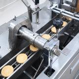 Compota de frutos do tipo sanduíche de biscoito Máquina com máquina de embalagem de fluxo