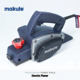 Plaina de madeira elétrica de Makute 82mm para o Woodworking