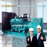 ブラシレス交流発電機が付いている750kw Cummins力の開いたディーゼル発電機