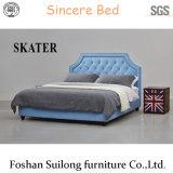 Современном американском стиле ткань кровать спальня мебель