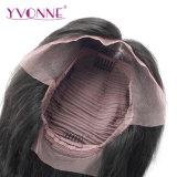 Perruque brésilienne d'avant de lacet de cheveu de Vierge de cheveux humains du cheveu 100% de Yvonne