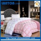 Duvet bianco 100% del re Size Hotel Goose Down del cotone del commercio all'ingrosso