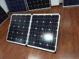 складывая панель солнечных батарей 160W для располагаться лагерем с электроснабжением Carvan
