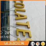 La resina su ordinazione acrilica di Frontlit illuminata segna il segno con lettere acrilico del LED