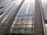 Feuille en plastique de toiture de fibre de verre légère, plaque d'appui de fibre de verre