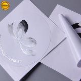 Frustrado Die-Cut plata redonda de papel adhesivo de sellado