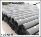 HDPE Geomembrane impermeable de 2m m para el trazador de líneas de la charca de pescados