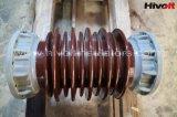 600kv isolateurs en porcelaine pour postes électriques de noyau creux