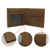 Оптовая торговля подлинной кожаное портмоне повседневный кошелек Man короткое замыкание кошелек
