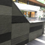 أبيض/أسود/أحمر منافس من الوزن الخفيف اصطناعيّة حجارة قرميد ليّنة جدار قرميد
