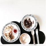 아기를 위한 음식 급료 실리콘 Placemat