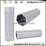 Protuberancia de aluminio de la fábrica para el disipador de calor comercial de la iluminación