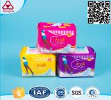 Wir Baumwolle kundenspezifische Markenname-Dame gesundheitliche Auflagen