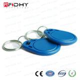 アクセス制御のための多彩な13.56MHz ABS RFID F08主札Keyfob