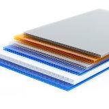 Protecção UV Twin-Wall Folha oca de policarbonato com SGS Aprovação