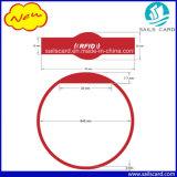 Bracelet réglable d'IDENTIFICATION RF de silicones de qualité