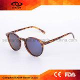Óculos de sol feitos sob encomenda polarizados redondos do tipo das melhores mulheres dos homens do vintage