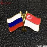 Perni nazionali su ordinazione del risvolto del distintivo della bandierina del Canada della fabbrica della Cina