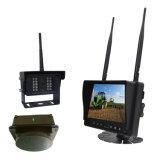 Multi- языки IP69K делают камеру водостотьким Rearview 2.4G цифров беспроволочную для трактора с монитором и батареей квада 7inch
