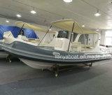 Liya 5.8-6.6m Hypalon barco inflável com motor para venda