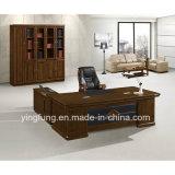 木の家具のL形YF-2221の現代オフィス表