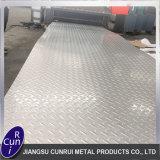 prezzo Checkered inossidabile dello strato del piatto d'acciaio del Ba 304 2b