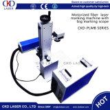 Laser-Gravierfräsmaschine der Faser-20W für Edelstahl gegliederten Arm