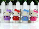 Dom crianças promocional Pen Drive Hello Kitty USB para o Natal