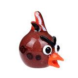 Tubo de vidrio Angry Bird la mano de vidrio del tubo de vidrio de la cabeza del tubo de cuchara