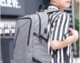 China mochila escolar de 15 polegadas com porta USB