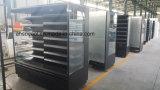 Gesichts-Luft-Vorhang-Supermarkt-Kühlraum mit justierbaren Schichten öffnen