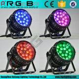RGBW 4in1 10W18LEDs mit lautes Summen NENNWERT kann beleuchten