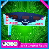 Переключатель мембраны кнопочной панели управлением монтажной платы графического верхнего слоя гибкий для индустрии