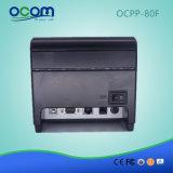 自動カッターが付いているOcpp-80f 80mm Bluetooth WiFiの熱プリンター